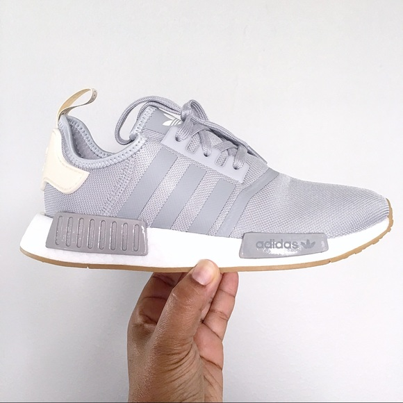 b5a3c6db09a adidas Shoes | Rare Nmd R1 Grey Womens Running | Poshmark